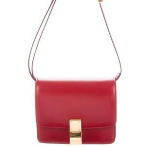Celine Classic Small Red Bag